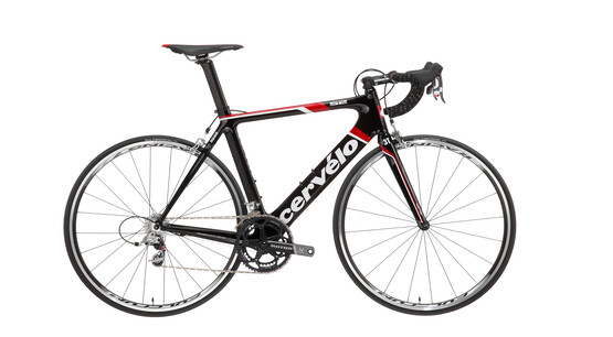 CERVELO S2 Carbon Red Noir/Rouge/Blanc